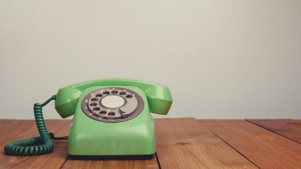 Une image illustrant un standard téléphonique virtuel vert